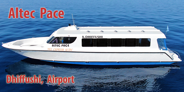 Altec Pace, Dhiffushi, Airport